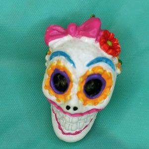 Hallmark Keepsake Sugar Skull Gal ornament